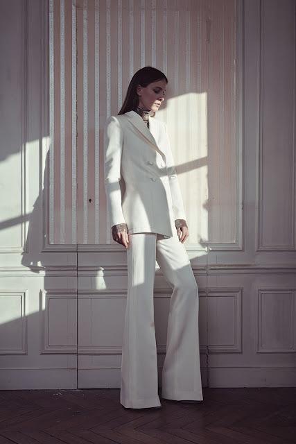 Natasa Vojnovic Serbian supermodel for Pallas Paris Fall Winter 2015