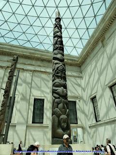Escultura de la Isla de Pascua en el British Museum