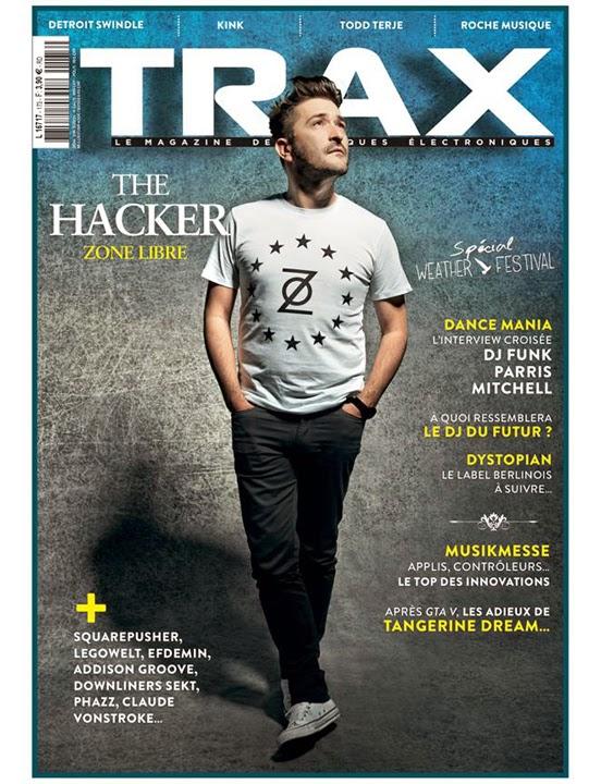 Trax n°173, mai 2014, Edgar Froese