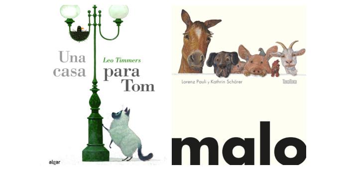 cuentos libros lecturas recomendadas verano 2018 Una casa para Tom y Malo
