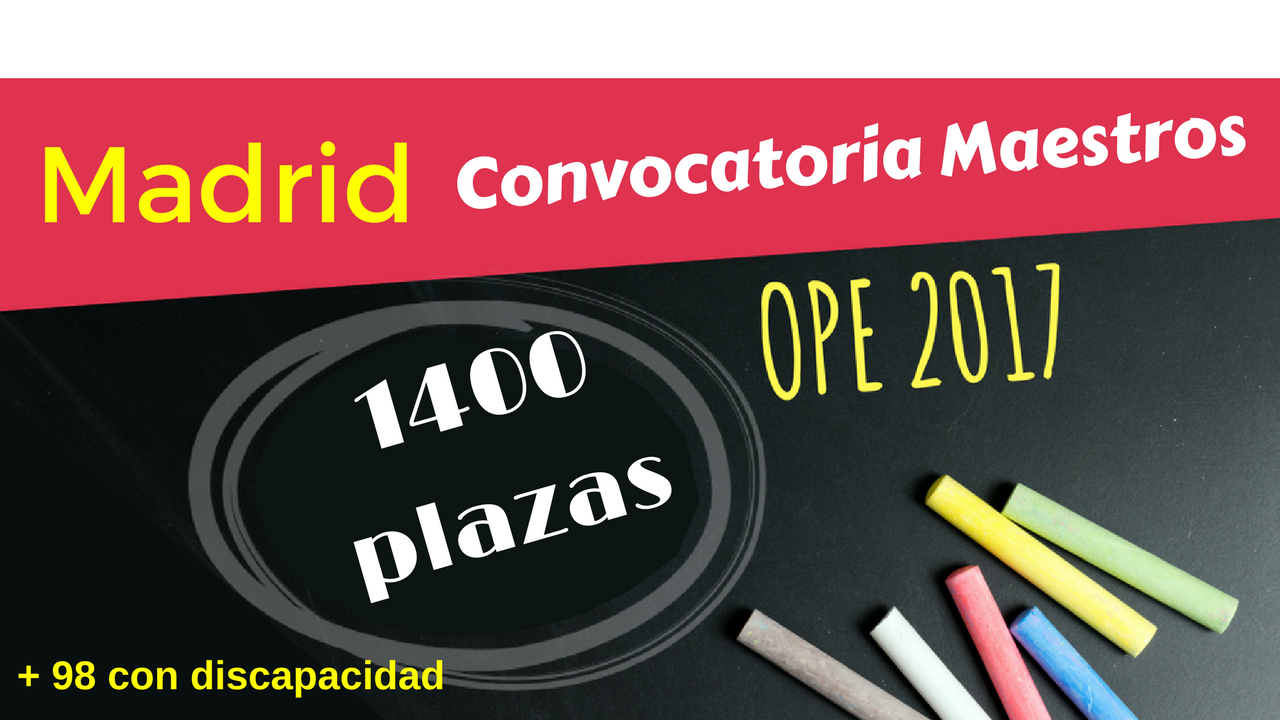 Temarium oposiciones temarios convocatoria 1400 plazas for Convocatoria de plazas docentes 2017