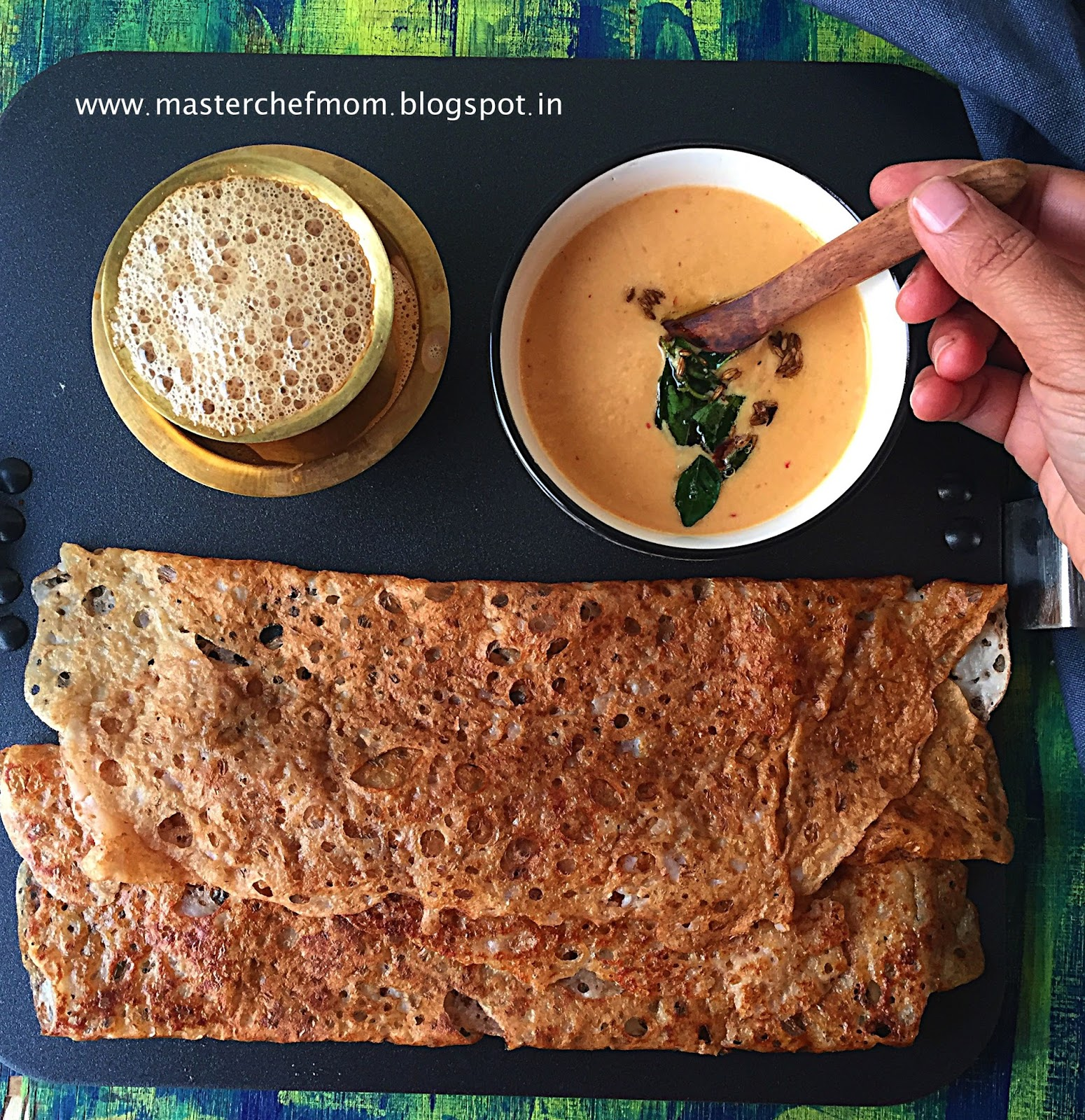 how to make instant dosa batter