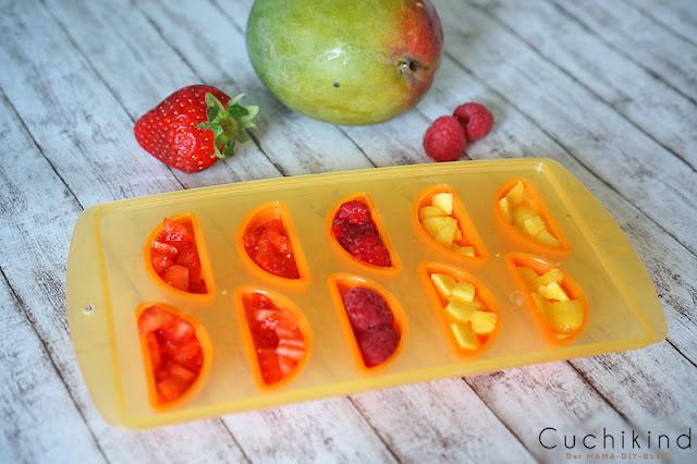 Fruchteiswürfel