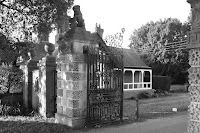 Entrance to the former Sudbrook Park