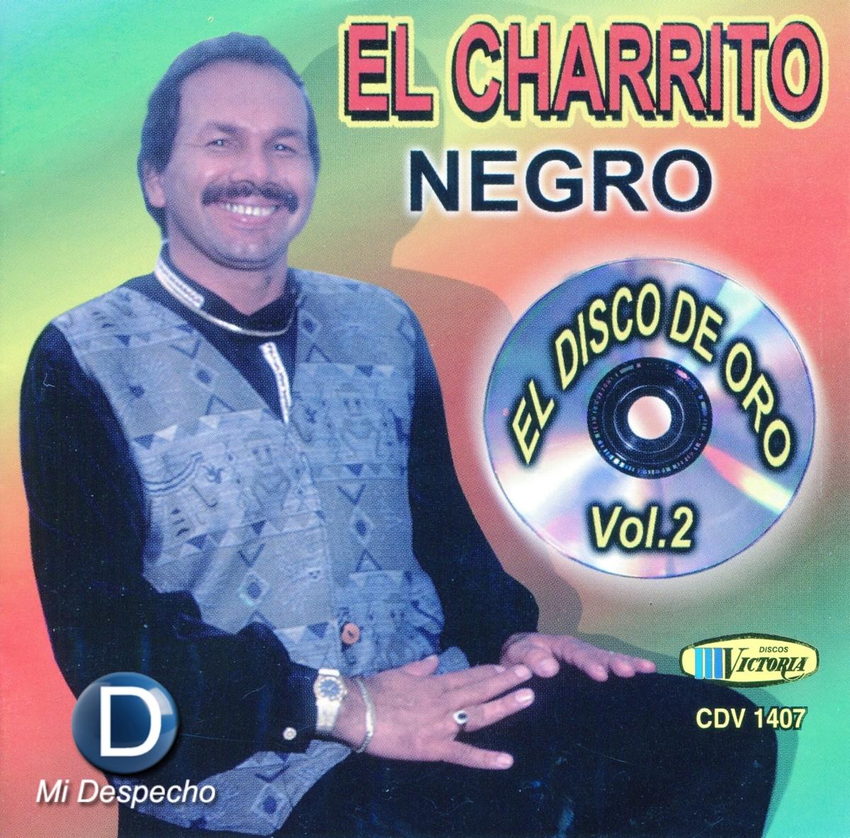 Charrito Negro El Disco De Oro Vol. 2 Frontal