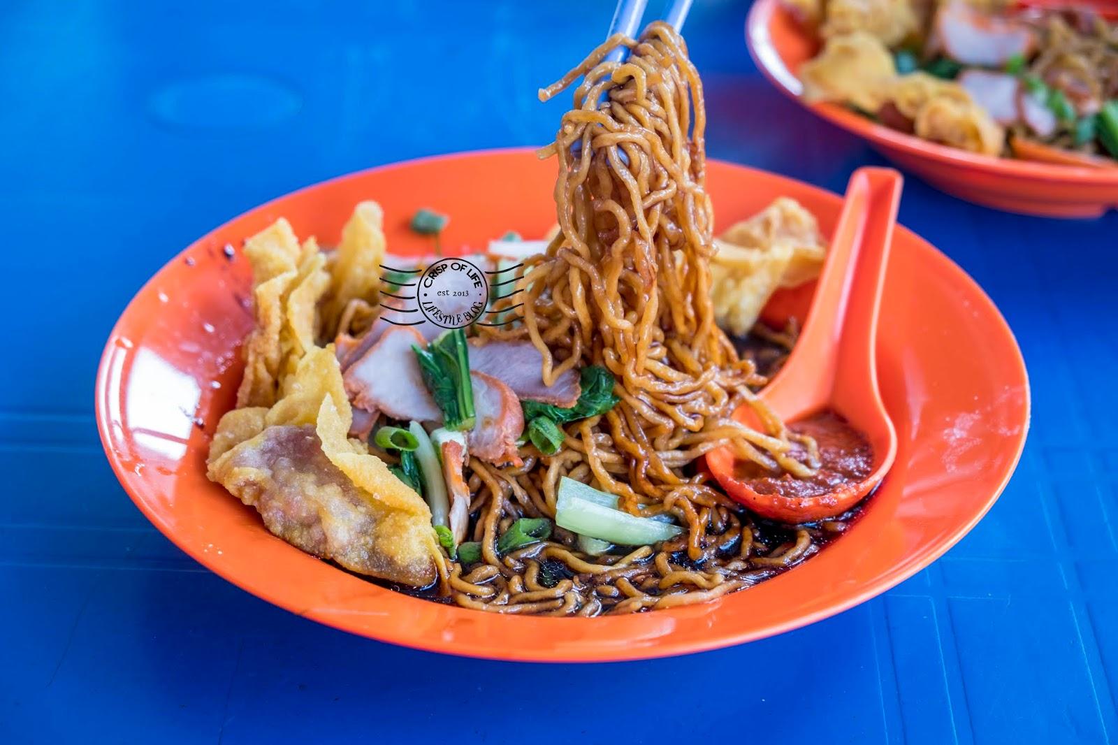 Fried Wan Tan Mee @ Lebuh Acheh, Penang