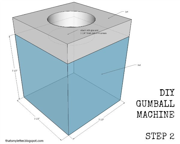 how to make a gumball machine