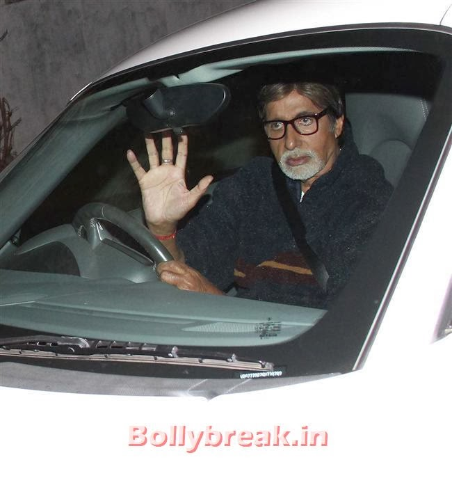 Amitabh Bachchan, Deepika, Ranverr, Jackie, Malaika & Other Celebs at Gunday Special Screening