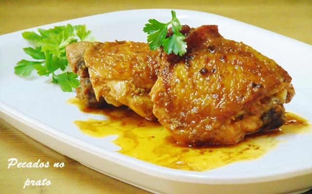Como fazer coxas de frango fritas