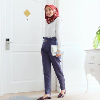 Style Baju Hijab Simple Handayani Syah Putri