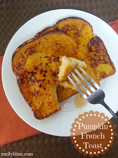 Pumpkin French Toast   #pumpkinbreakfastrecipes