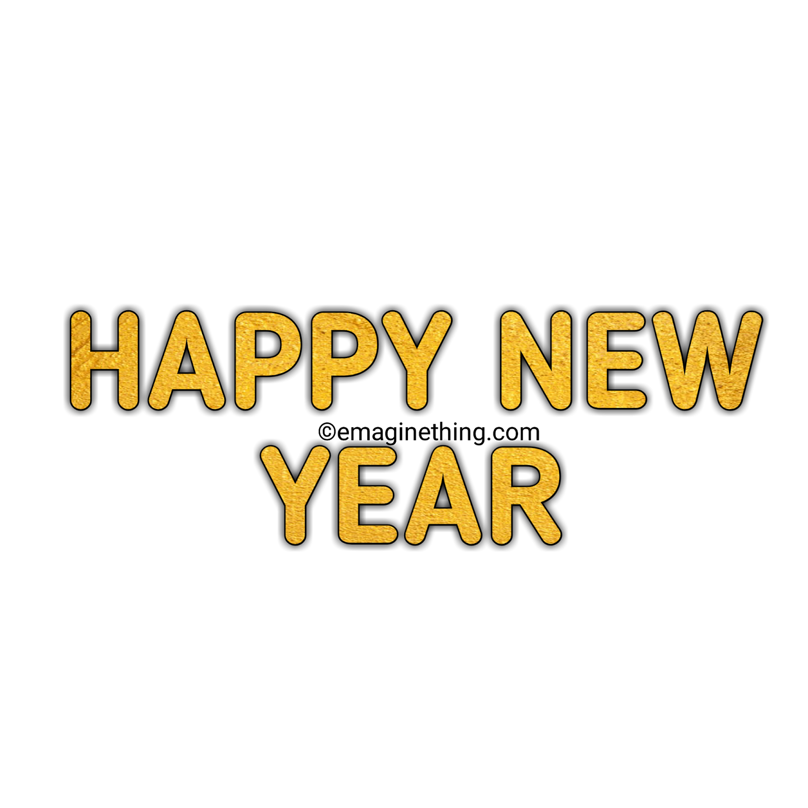 happy new year text png 2019 whatsapp stickerdownload
