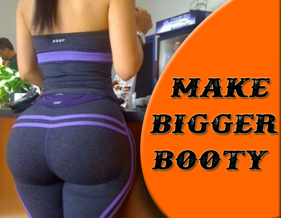 Fitness Motivation  How To Make Bigger Booty  Gym -8437