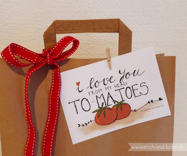 mit Strich und Faden: I love you from my head tomatoes |zum Ausdrucken