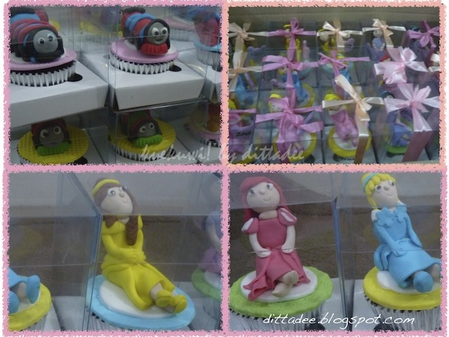 Kuekuwi By Dittadee Princess Azmi Bday Cupcakes