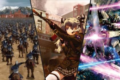 30 Anime Tentang Perang Terbaik dan Terkeren (Dari Jaman Kerajaan sampai Masa Depan)