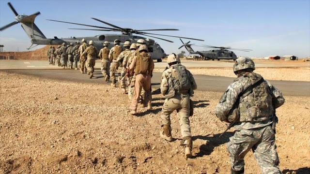 Trump retira las tropas de siria