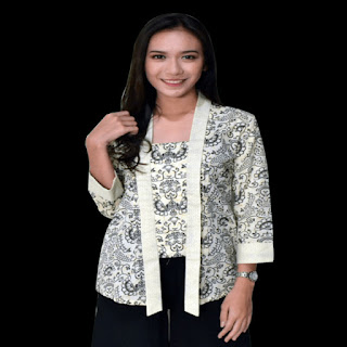 desain baju batik modern 2018
