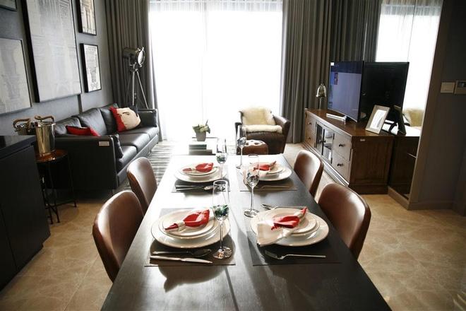 Phòng bếp Sun Grand City Láng Hạ