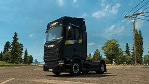 Link-Transport Paint job for Scania S