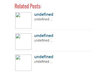 Cara Mengatasi Related Post Tidak Muncul