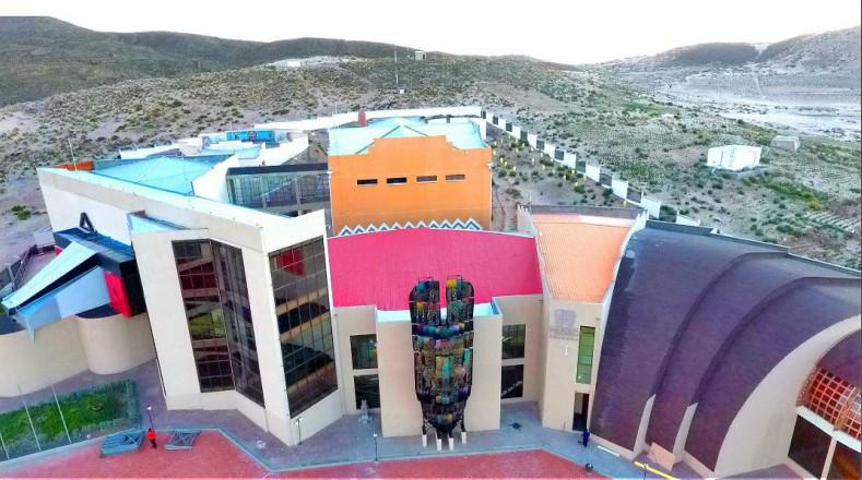 Museo costó 7 millones de dólares y está construido sobre 10 mil mts2