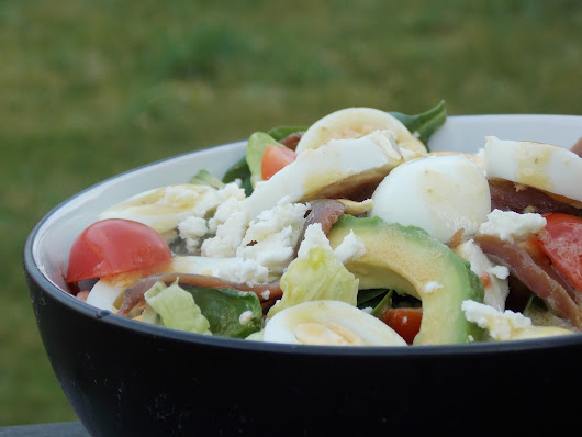 Delicious Mixed Salad With Homemade Dijon Dressing