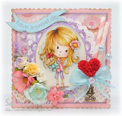 LDRS Polkadoodles Winnie's Scrummy Cupcake