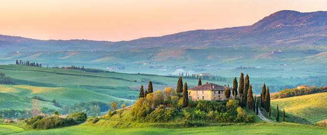 Tuscany by Sergey Borisov