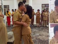 Astagfirullah, PNS di Nias Ciuman Massal Rayakan Hari Kasih Sayang, Ternyata..