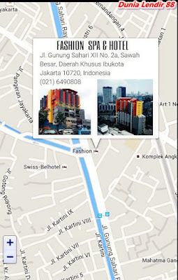 Alamat Fashion SPA Gunung Sahari Jakarta