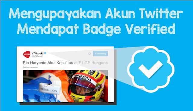 Akun twitter verified