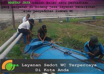 Jasa Sedot Tinja Area Surabaya Utara Harga Murah