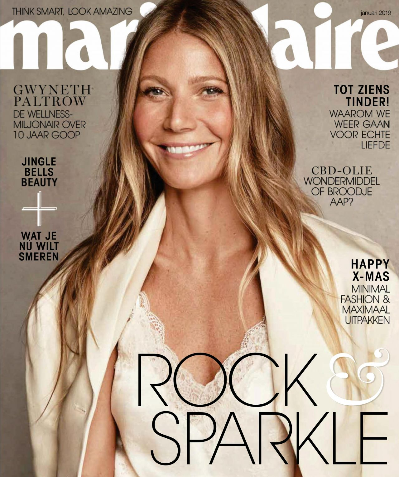 Gwyneth Paltrow – Marie Claire Netherlands January 2019 Issue