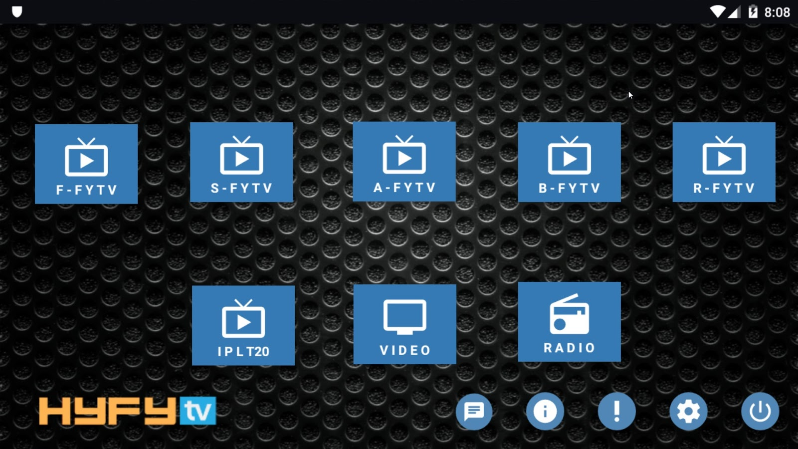 HyFyTV Apk App For All Android, Fire TV Devices - New Kodi