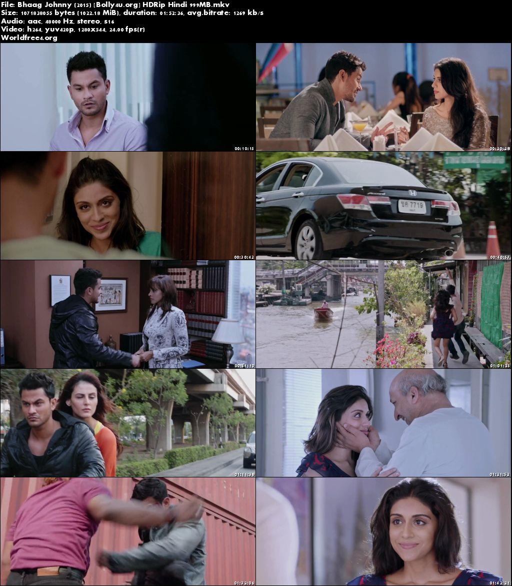 Bhaag Johnny 2015 HDRip 999Mb Hindi Movie 720p Download