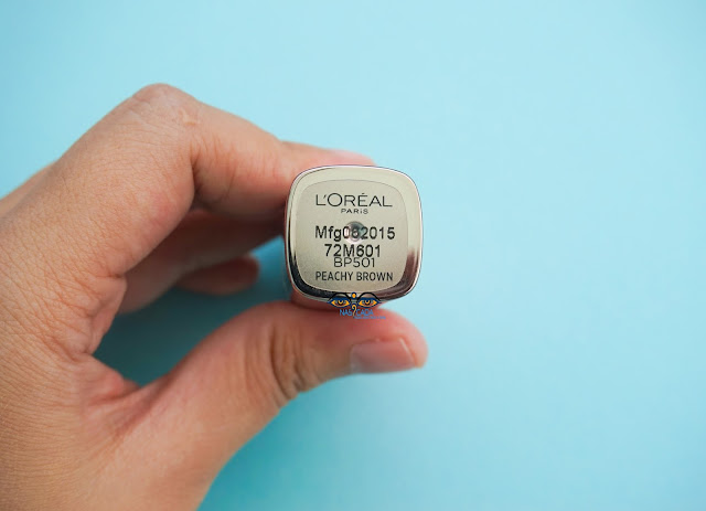 review-loreal-paris-color-riche-moist-matte-peachy-brown