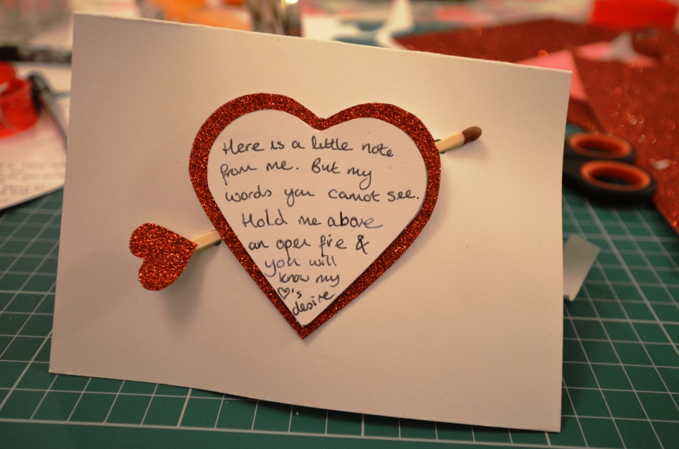 hidden message valentines day card creative crafting a secret valentines message 6707