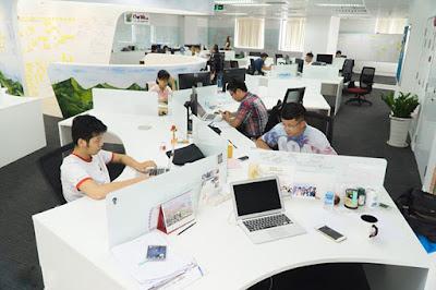 thiết kế nội thất văn phòng theo quy mô nhân sự