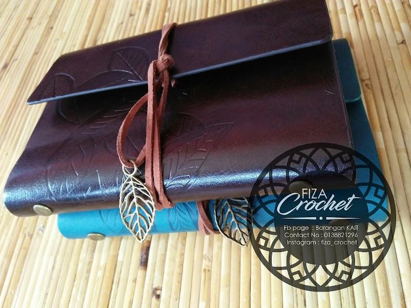 Notebook Diary String Leaf dah sampai