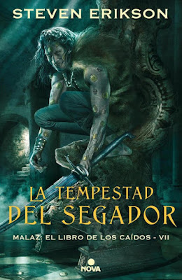 LIBRO - La tempestad del segador (Malaz - El Libro de los Caídos #7) Steven Erikson  Book: Reaper's Gale (Malazan Book of the Fallen #7)  (Nova - 12 septiembre 2019)   COMPRAR ESTA NOVELA