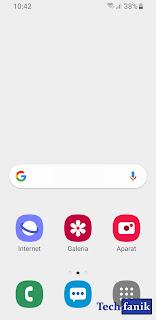 Samsung tryb ułatwienia wygląd ikon