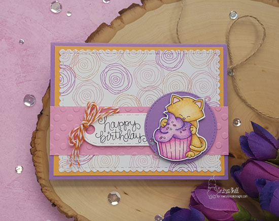 appy Birthday by Andrea features Newton Loves Cake by Newton's Nook Designs, #newtonsnook