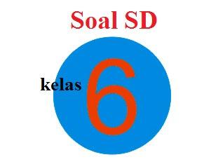 Contoh Soal Matematika 6 SD Semester 1 Tentang Debit