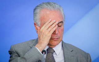Abatido por crise, presidente Temer perde governabilidade