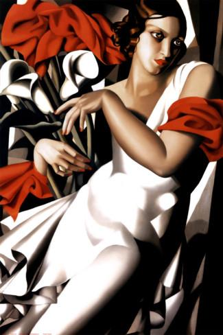 Retrato de Ira Perrot, 1930. Tamara de Lempicka