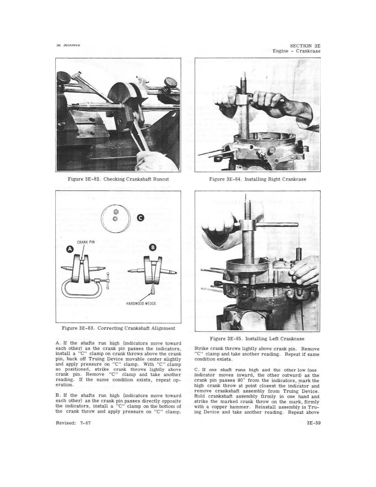 OB1 Repairs: Harley Davidson Service Manual 1965-72 M Models