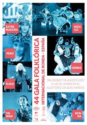 Ronda - Feria de Pedro Romero 2017 - Cartel Gala Folklórica