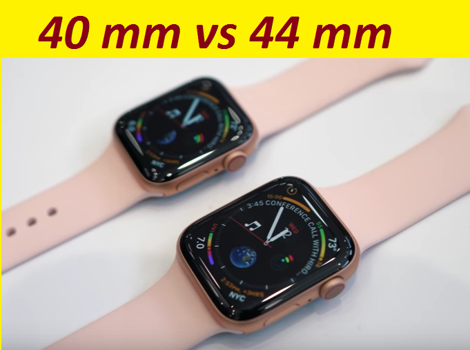 apple watch 44mm vs