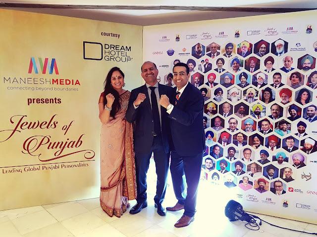 Satinder Dhillon Jewels of Punjab Top 100 Leading Global Punjab